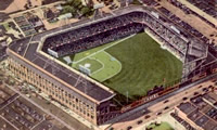 Ebbets Field -- home of the Brooklyn Dodgers